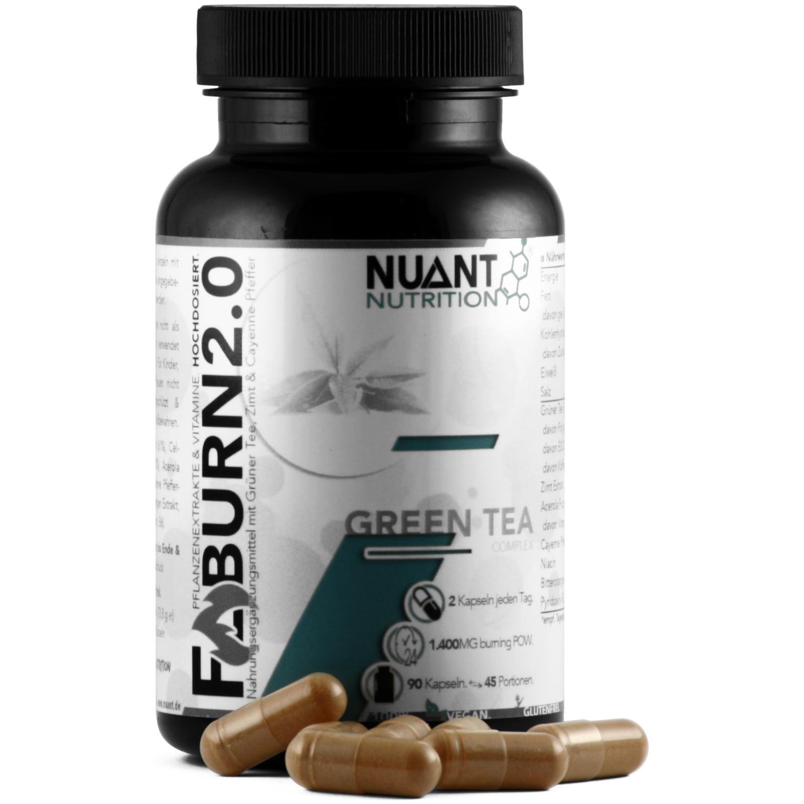NUANT® F-BURN 2.0 - Fatburner & Stoffwechselkur